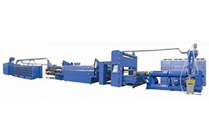 Tape Stretching Line with Tape Winder